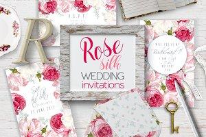 Rose Silk|Wedding invitations