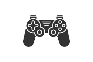 Gamepad glyph icon