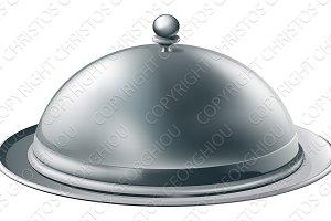 Silver platter illustration