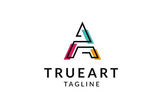 true art a logo logo templates creative market