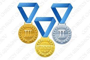 Medals Illustration