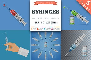 Syringes. Injections and Vaccination