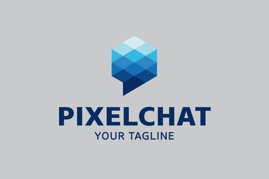 Pixel Chat Logo