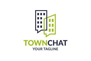 Town Chat Logo