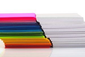 Colored paper