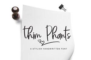 Thim Phants Script