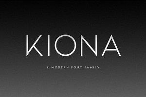 KIONA - A Modern Sans Serif