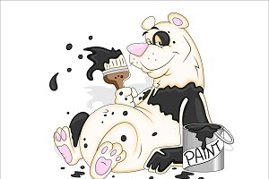 Cartoon Polar Bear Vectors