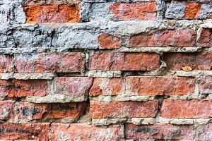 Brick wall, texture