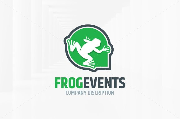 Frog Events Logo Template