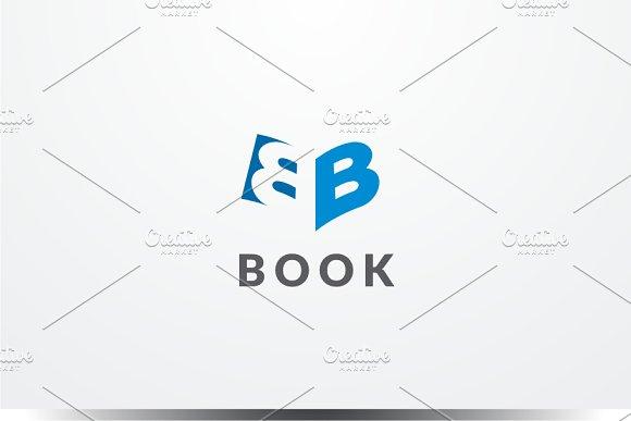 Book - Letter B Logo