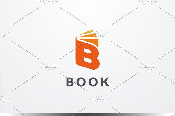 Book - Letter B Logo in Logo Templates