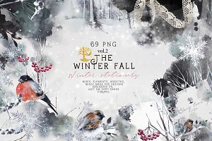 "vol.2 ""Winter fall"" stationery"