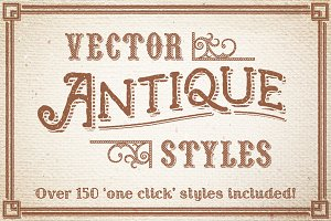 Vector Antique Styles