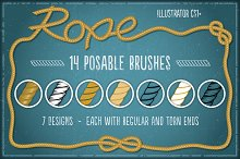rope brush
