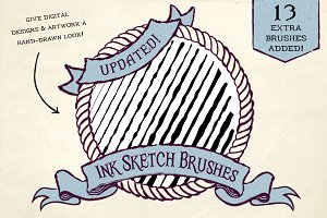 Ink Sketch Brushes