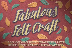 Felt Craft - Stitches Styles & More