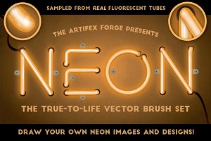 Neon - Realistic Brush Set
