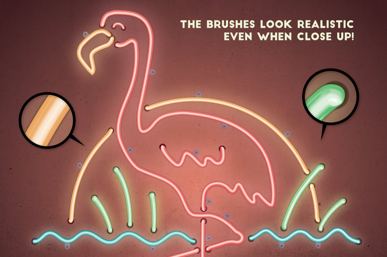 neon brushes preview 7