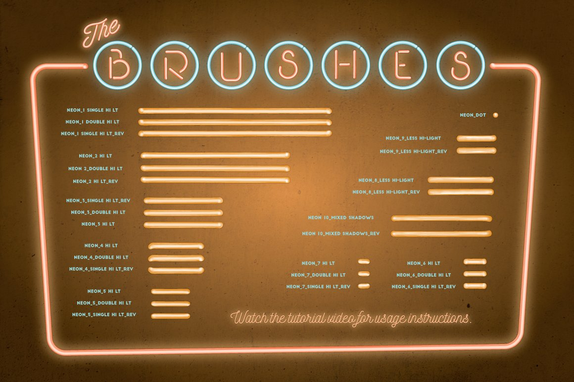 neon brushes preview 6