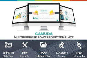 Gamuda Powerpoint Template