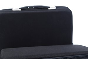Two black briefcase
