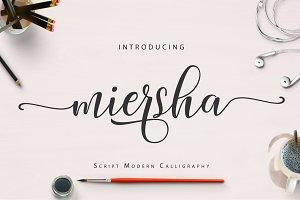 Miersha Script