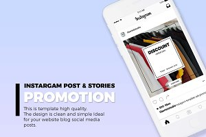 INSTARGAM POST & STORIES