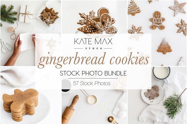Gingerbread Cookies Stock Bundle