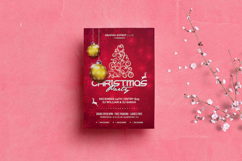 Christmas Party Flyers ~ Flyer Templates ~ Creative Market