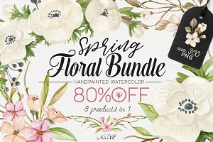 80% OFF Spring Floral Bundle