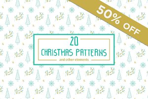 Christmas Patterns and elements