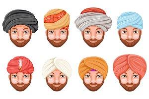 Fashion turban headdress
