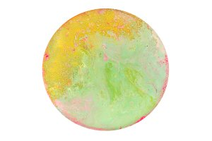 Marble texture. Acrylic colors.
