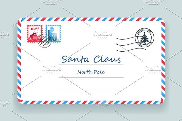 anta Claus Christmas Mailing
