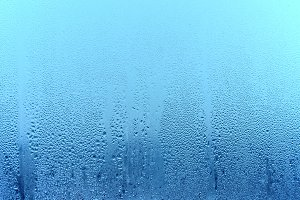 Natural water drop background. Windo
