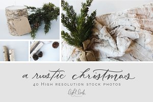 A Rustic Christmas | Stock Photos