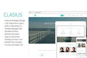 Clasius - Creative Agency/Portfolio