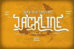 Jackline Typeface + Bonus