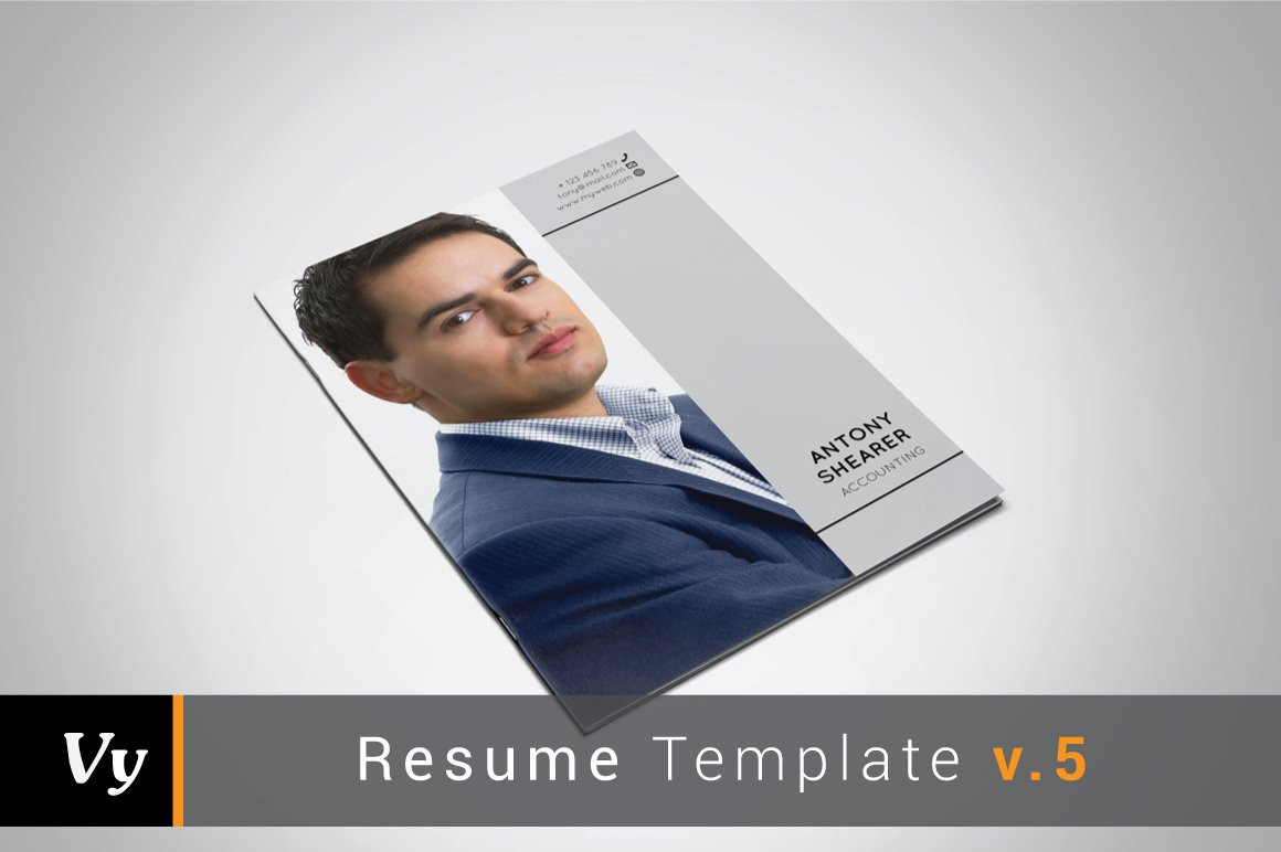 Booklet Resume Template ~ Resume Templates ~ Creative Market