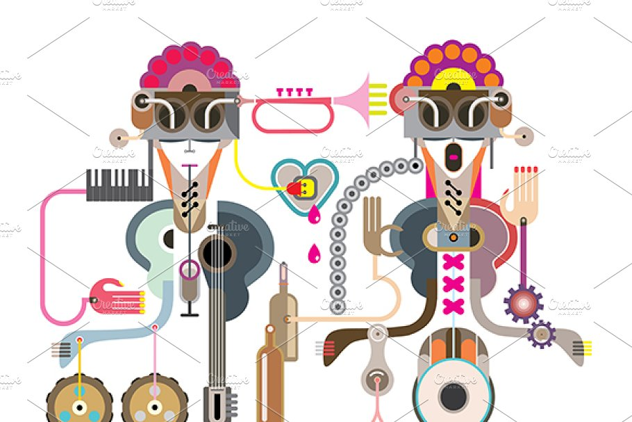 Abstract art composition in Illustrations - product preview 8