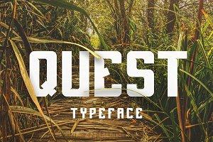 QUEST Typeface