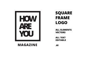 Square Frame Logo