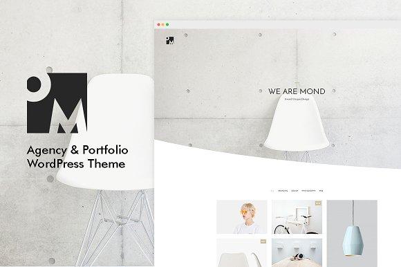 Mond - Agency & Portfolio WP Theme