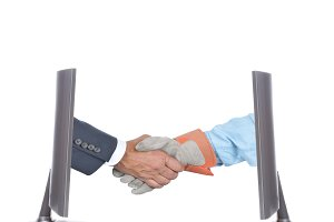 Management Labor Handshake