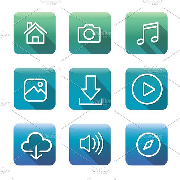 Icon Application Vector