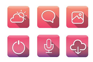 Icon Application Vector