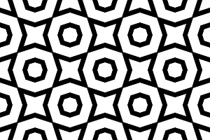 Tileable seamless geometric pattern