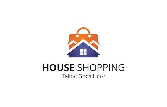 House Shopping Logo ~ Logo Templates ~ Creative Market