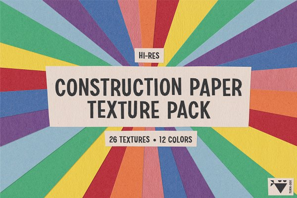 Construction Paper Texture Pack